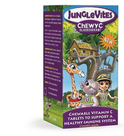 Vitaforce Junglevites Chewy C 60 Blackcurrent