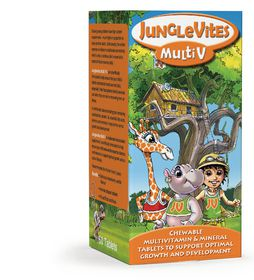 Vitaforce Junglevites Multi Vitamin Tablets 60