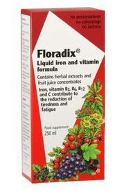 Floradix Iron Tonic Red - 250ml