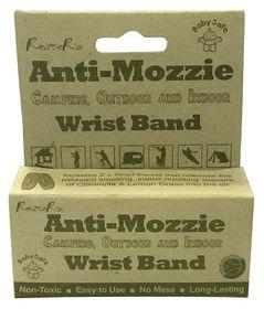 Reitzer Camp/Outdoor Anti Bug Wrist Bands