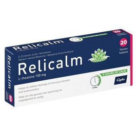 Relicalm Tablets - 20's