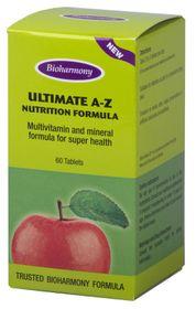 Bioharmony Ultimate A-Z Tablets 60