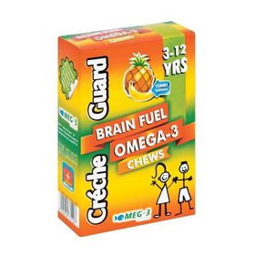 Creche Guard Brain Fuel Omega 3 Chew 60