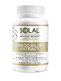 Solal Ginkgo Biloba Extract 250mg - 60s