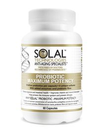 Solal Probiotic Max Potency - 60 Caps