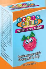 Brain Child Softgel Chews 60