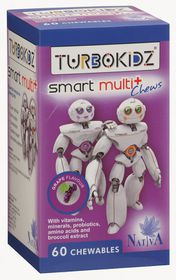 Turbokidz Smart Multi + Chews 60