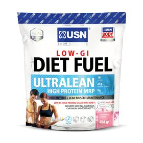 USN Diet Fuel 454g Bag Strawberry Die053C
