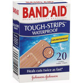 Band Aid Plastic Strips 25