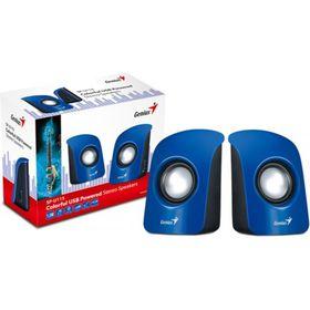 Genius SP115 2.0 Compact Portable Speakers - Blue