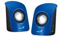 Genius S115 Compact Portable Speakers - Blue