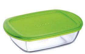 Pyrex - Storage Cook and Store Rectangular Dish With Lid - 350ml