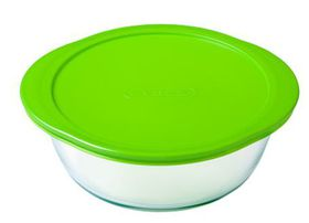 Pyrex - Storage Cook and Store Round Dish With Lid - 2.3 Litre