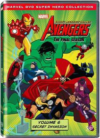 Marvel The Avengers: Earth's Mightiest Heros Vol 6 (DVD)