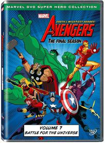 Marvel The Avengers: Earth's Mightiest Heros Vol 7 (DVD)