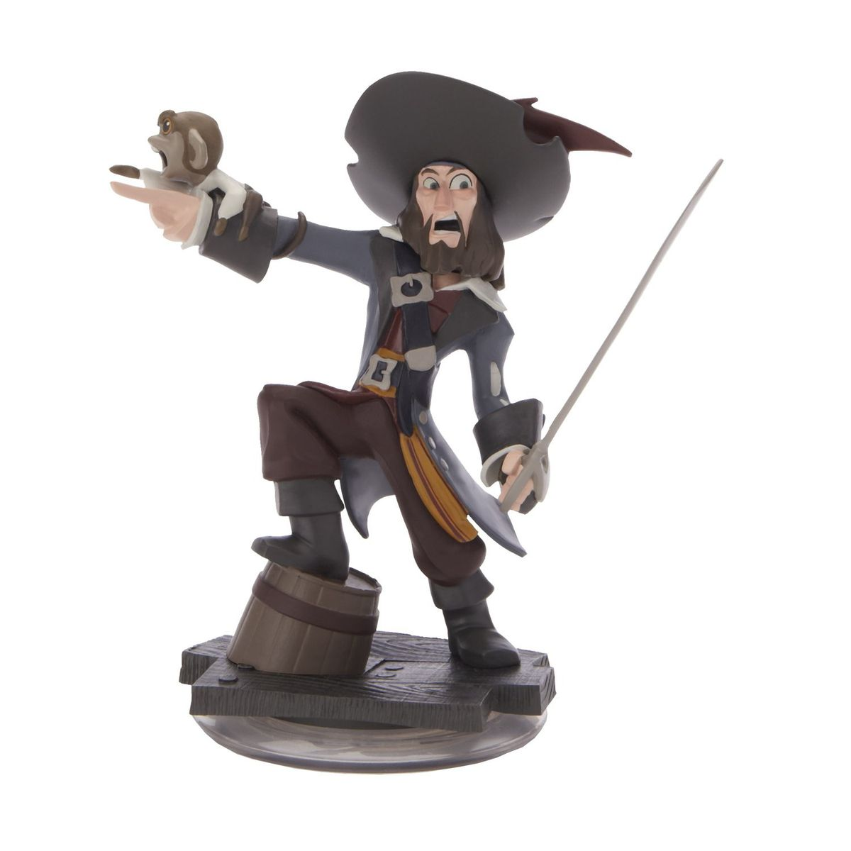 Disney Infinity Game Piece: Barbossa (pirates Of The Caribbean ...