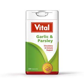 Vital Garlic & Parsley  Capsules 100