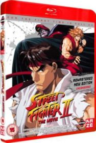 Street Fighter 2: The Animated Movie (Import Blu-ray)