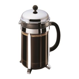 Bodum - Chambord Coffee Maker - 12 Cup - Stainless Steel and Glass
