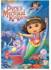 Dora The Explorer - Dora's Rescue In The Mermaid Kingdom (DVD)