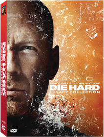Die Hard 1-5 Legacy Collection Box Set (DVD)