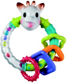 Sophie the Giraffe - Multi Textured Rattle