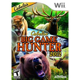 Cabela's Big Game Hunter 2012 SAS (WII)