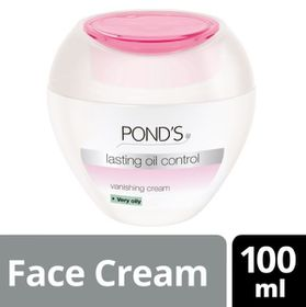 POND'S Lasting Oil Control Vanishing Cream For Very Oily Skin - 100ml -3984