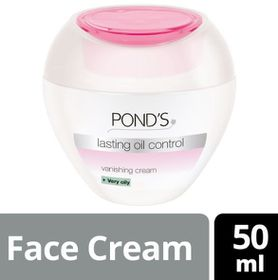 POND'S Lasting Oil Control Vanishing Cream For Very Oily Skin - 50ml - 3983