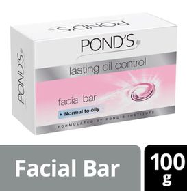 POND'S Lasting Oil Control Facial Bar For Normal to Oily Skin - 100g