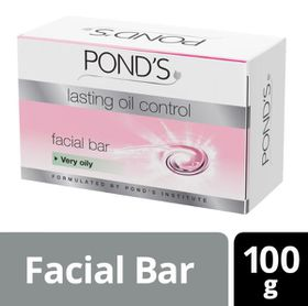 POND'S Lasting Oil Control Facial Bar For Very Oily Skin - 100g