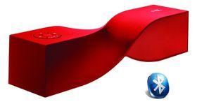 Shox Spin Portable Speaker - Red