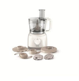 Philips - Daily Collection Food Processor - White