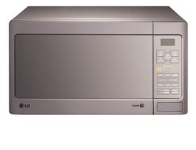 LG - 40 Litre 1000W Microwave Oven - Silver