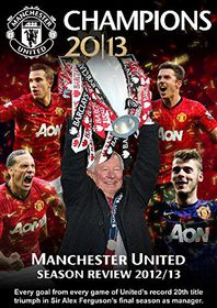 Manchester United Champions 2012/13 - Season Review (DVD)