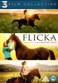 Flicka, Flicka 2 and Flicka: Country Pride - (Import DVD)