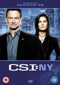 CSI New York: Complete Season 8 (Import DVD)