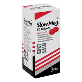 Slow-Mag - 60 Tablets
