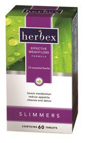 Herbex Original Slimmers - 60 Tablets