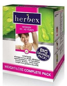 Herbex Weight-Loss Complete Pack - 40-60 years