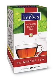 Herbex Slimmers Fat Burn Tea - 20