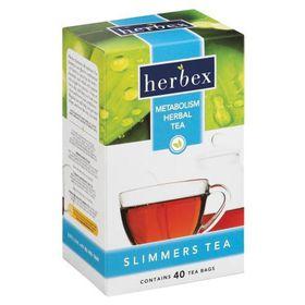 Herbex Slimmers Metabolism Tea - 40