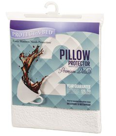 Protect-A-Bed - Premium Deluxe Pillow Protector