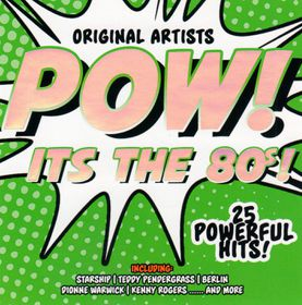 POW - It's The 80's - Various Artists (CD)