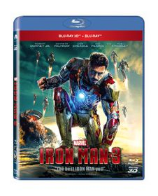 Iron Man 3 (3D & 2D Blu-ray)