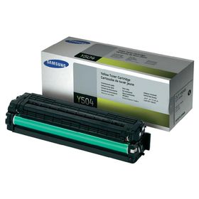 Samsung CLT-Y504S Yellow Laser Toner Cartridge