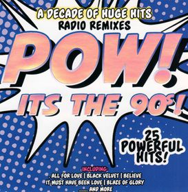 Pow! It's The 90's - Various Artists (CD)