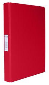 Bantex A4 2 O-Ring PVC 25mm Ringbinder - Red