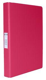 Bantex A4 2 O-Ring PVC 25mm Ringbinder - Pink