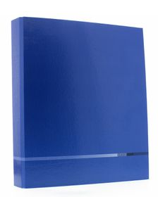 Bantex B1328 A4 2 O-Ring 25mm Classique Polytec Ring Binder - Blue